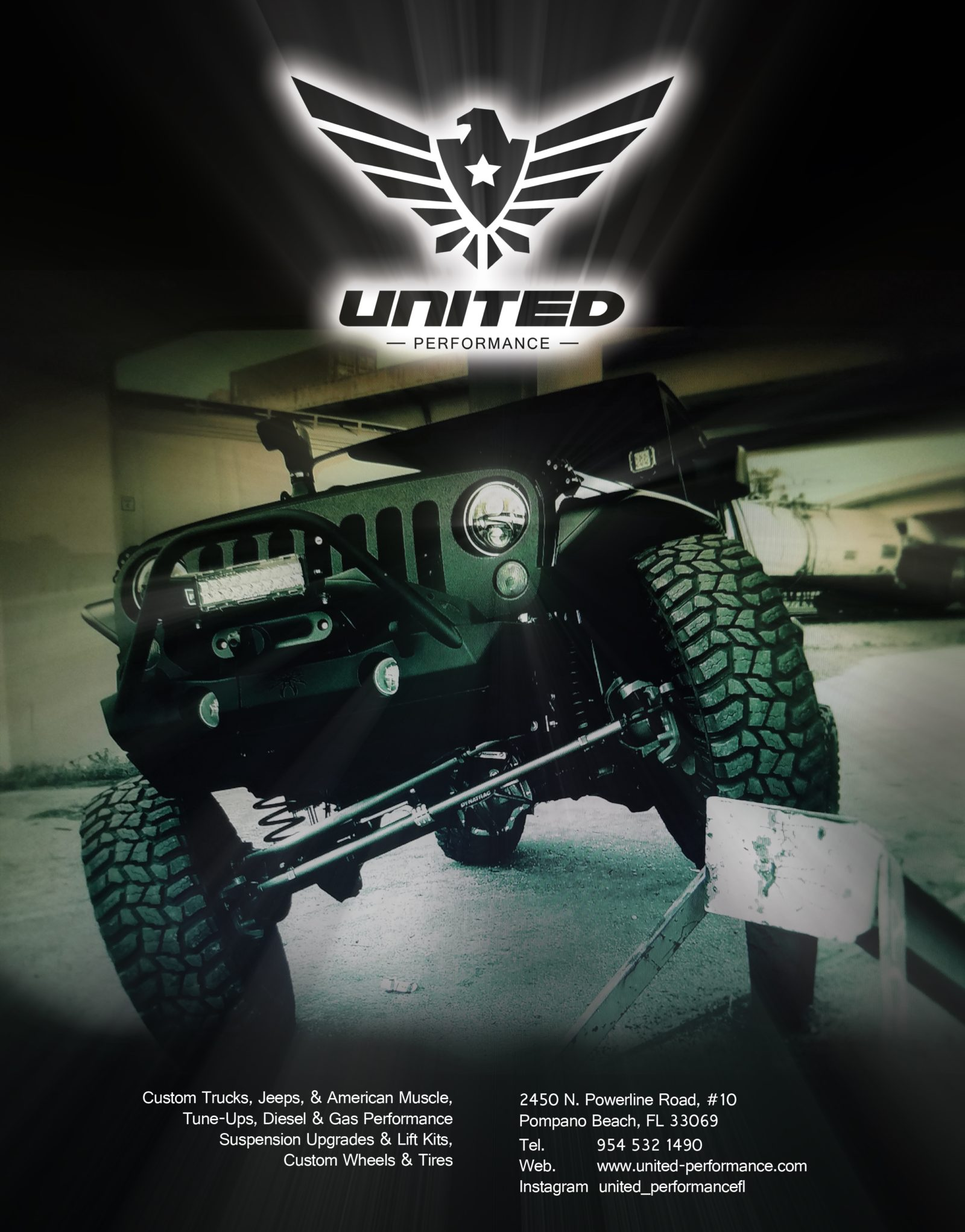"NEW ""JEEP"" UNITED PERFORMANCE AD!"
